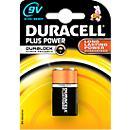 DURACELL® batterij Plus Power, E- blok, 9 V