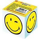 Herlitz kubusblok smiley, notitieblaadjes wit, zijkant bedrukt, 700 vellen