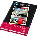 HP Papier laser couleur CHP340, format A4, 120 g/ m², 250 feuilles