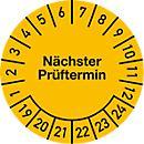 Insignia de prueba, próxima fecha de prueba (2017- 2022)