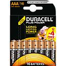 Juego económico DURACELL® Battery Plus Power, 1,5 V, Micro AAA o Mignon AA, 16 unidades