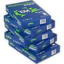 Kopierpapier Team Brand, DIN A4, 10.000 Blatt + 20 PolyPoints