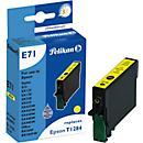 Pelikan inktpatroon compatibel T128440, geel (pigmentinkt)