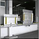 Pontes para rampas em alumínio tipo SKB