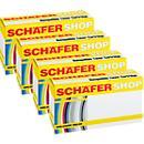 Schäfer Shop Sparpaket 4 Tonerkassetten CB540/541/542/543, cyan, magenta, gelb, schwarz