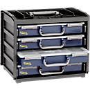 Skrzynka z pojemnikami na drobiazgi raaco HandyBox 55 x 4