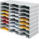 Sortierstation styrodoc® Standard SET, 8 Etagen/ 3- reihig/ 24 Fächer