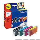 Spaarset 4 Pelikan cartridges, identiek aan BCI- 6 serie, 1x cyaan, magenta, geel + 1x zwart BCI- 3eBK