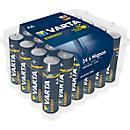 Sparset VARTA Batterien Energy, Micro AAA o. Mignon AA, 1,5 V, 24 Stück