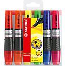 STABILO® tekstmarkers luminator, set van 6