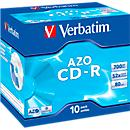 Verbatim® CD- R, tot 52x, 700 MB/ 80 min, 10 JewelCases
