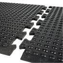 Werkplaatsmat Bubblemat Nitril, eindmatten en tussenmatten met module- functie