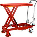 Wózek platformowy nożycowy, udźwig 300 kg
