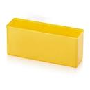 Assortimentsdoos inzetbak, rechthoekig, robuuste ABS-kunststof, geel