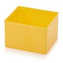Assortimentsdoos inzetbak, voor rasterafmeting 2 x 2, rechthoekig, geel