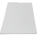 Extra legborden voor TETRIS WOOD kastensysteem, 2 stuks, archiefrek/vleugeldeurkast breedte 400 mm, lichtgrijs