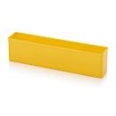 Sortimentskasten Einsatzkasten, für Rastergröße 1 x 5, rechteckig, gelb