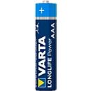 Voordeelset VARTA batterijen High Energy, Micro AAA, 1,5 V, 4 stuks