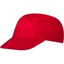 3 Panel Promo Cap, inkl. einfarbige Werbeanbringung, One-Size Größe, signal-red
