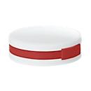 4 Port USB-HUB, Roundhub, weiß/rot