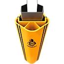 Aanrijdbeveiliging voor magazijnstellingen RackGuard (L) SL, voor stellingen met stijlbreedte 126 mm en stijldiepte 75 mm