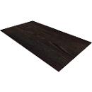 Abdeckplatte SOLUS PLAY, f. Regale u. Schränke SOLUS PLAY, B 800 x T 440 mm, Mooreiche