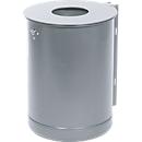 Abfallbehälter 35 l, ungelocht, verzinkt