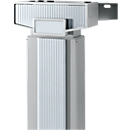 Accentlijsten PLANOVA ERGOSTYLE, eentraps in hoogte verstelbaar, 45° + 90 °, zilver, 3 stuks