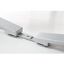 Afstandshouder PLANOVA ERGOSTYLE, 2 stuks, blank aluminium
