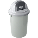 Afvalbak 47 l, grijs