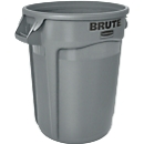 Afvalsorteersysteem, polyetheen, rond, 37 l, grijs