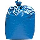 Afvalzakken, 120 l, blauw