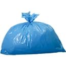 Afvalzakken voor afvalbakken, 90 liter blauw