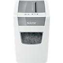 Aktenvernichter Leitz IQ Home Office Slim, Partikelschnitt 4 x 28 mm, P4, 23 l, 10-11 Bl., Antipapierstau