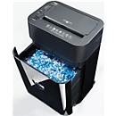 Aktenvernichter ShredMatic 35080, Partikelschnitt 4,3 x 10 mm, P4, 17 l, 8-80 Blatt, mit Rollen, schwarz