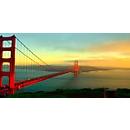 Akustik-Bild, Brücke, 1600x800 mm