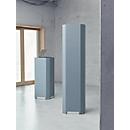 Akustik-Säule Sound Balance, 4-seitige Absorberfläche, B 450 x T 450 x H 1100 mm, dunkelgrau