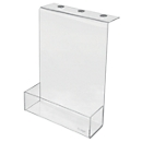 Akustik-Zubehör Aufbewahrungsbox Sound Balance, Acryl, transparent, m. Magnet, B 220 x T 60 x H 300 mm