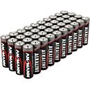 Alkaline Batterien Ansmann, Micro AAA, 7 Jahre Lebensdauer, 40 Stück