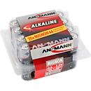 Alkaline batterijen Mignon AA/LR6, 1,5 V, 20 stuks