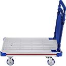 Aluminium-Plattformwagen, faltbar, 150 kg Tragfähigkeit, 8,5 kg Gewicht