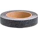 Antislip-tape CleanGrip, 50 mm x 25 m, zelfklevend, Slipweerstand R 11 volgens DIN 51130, zwart, 1 rol