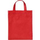 Apothekertasche, 100% Polypropylen, inkl. einfarbigem Druck und allen Grundkosten, rot