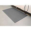 Arbeitsplatzmatte Orthomat® Anti-Fatigue, grau, lfm. x B 900 mm