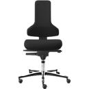 Arbeitsstuhl TEC profile IS 2011_ESD AS, ESD-leitfähig, Syncro-Automatic®, ohne Armlehnen, schwarz