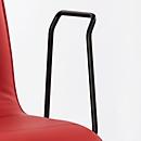 Armleuningen, voor bezoekersstoel ZEROS´SE, zwart