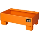 Auffangwanne AW60-1 orange RAL2000