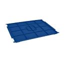 Auflagedeckel RL-KLT-D 45 PP, f. Kleinladungsträger R/RL-KLT, B 400 x T 300 mm, blau
