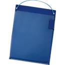 Auftragstaschen, Klettverschluss, DIN A5, blau