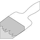 Außenwandlackierung für Gas-Box GB 1